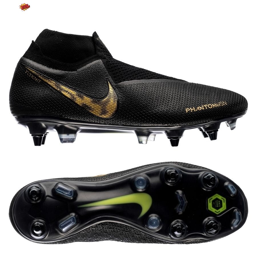 Nike Phantom Vision Elite DF SG PRO Anti Clog Black Lux Nero Scontate