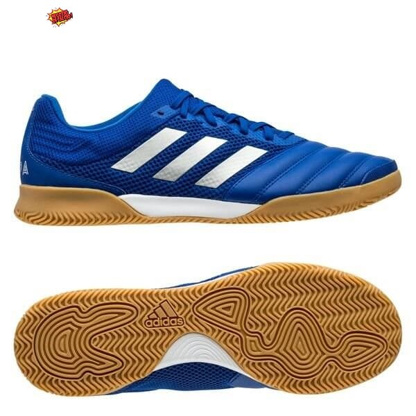Adidas Copa 20.3 Sala IN Inflight Blu Argento Metallico Scontate